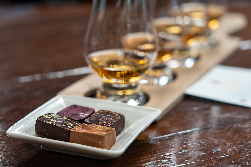 Whisky and chocolate pairing