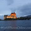 Loch Duich - Eilean Donan Castle at Twilight
