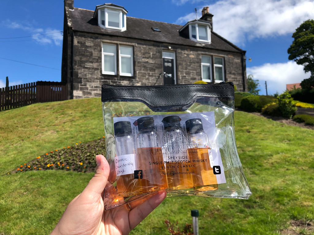Driver's drams at Glen Moray