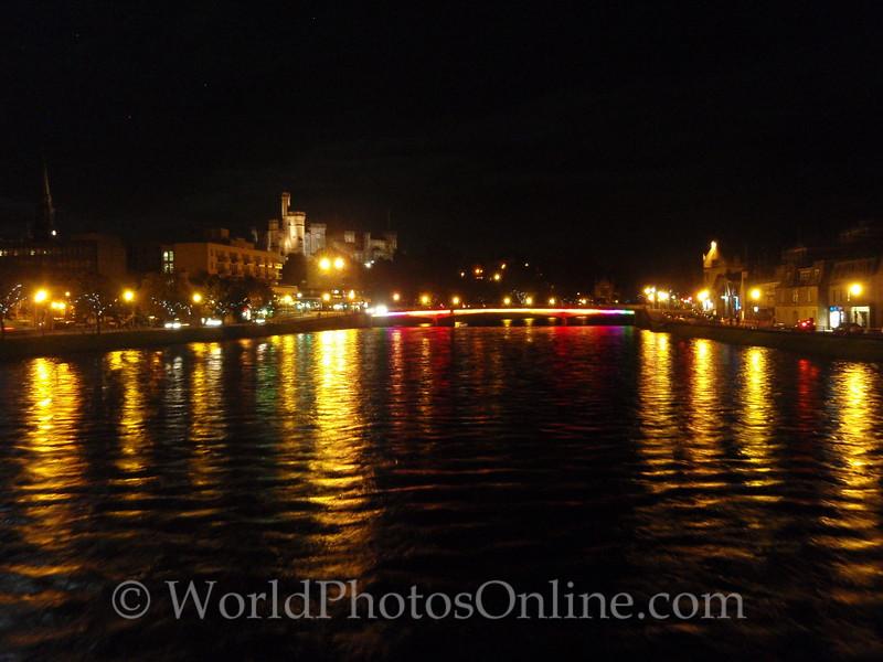 Inverness - Ness Bridge on the River Ness
