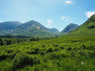 Glencoe in Scotland