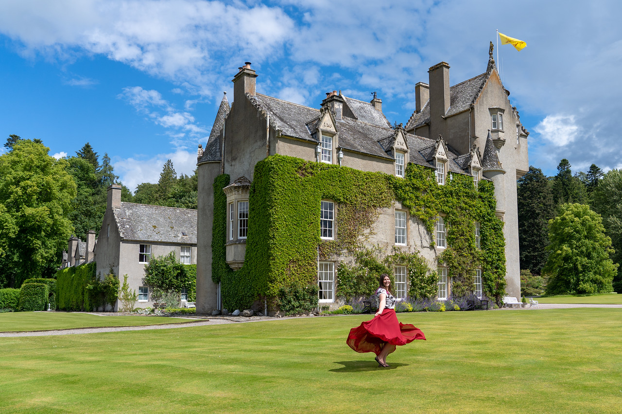Ballindaloch Castle in Speyside