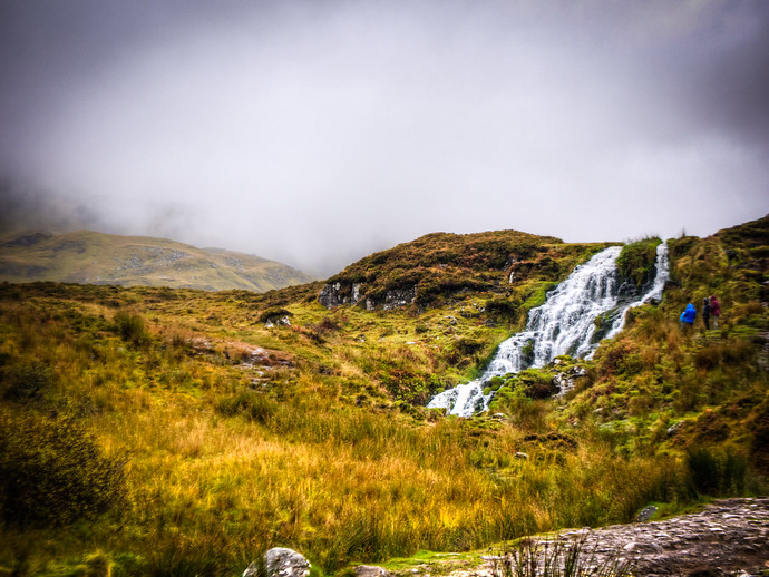 scotland waterfalls