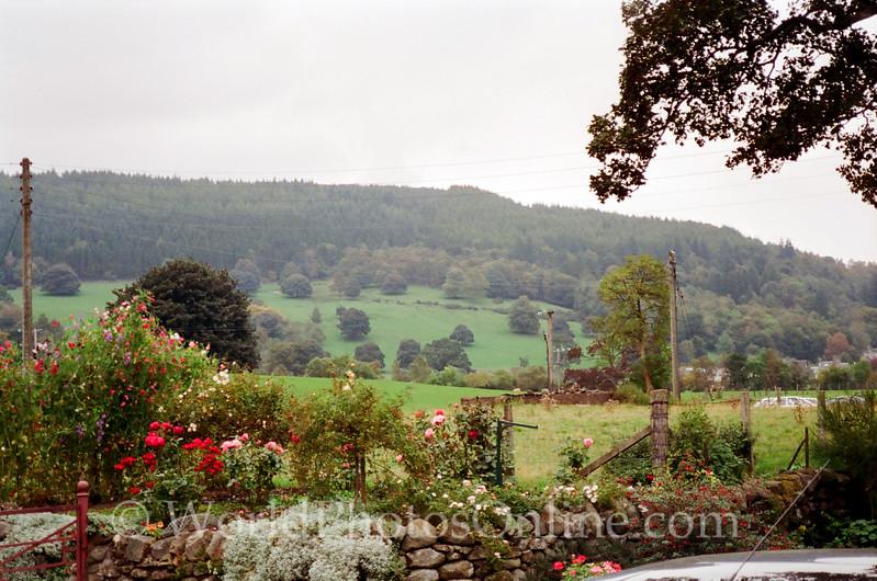 Balquhidder Churchyard - Countryside View