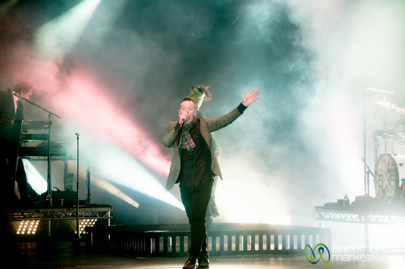 James Kerr of Simple Minds at Edinburgh's Hogmanay