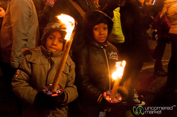 Edinburgh's Torchlight Procession, Young Participants