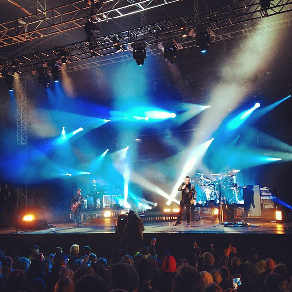 Simple Minds rock the house at #Edinburgh #Hogmanay #blogmanay
