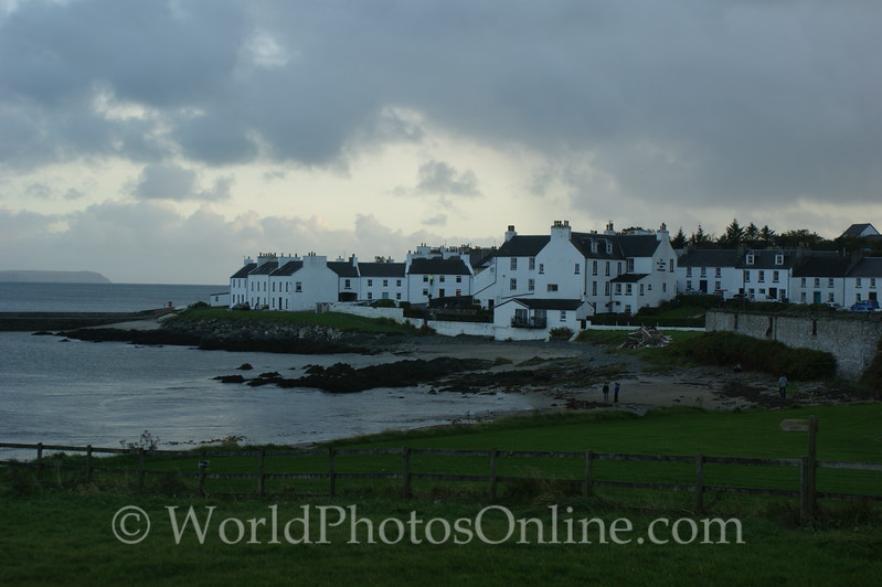 Islay - Port Charlotte - Town