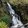 Skye - Dunvegan Castle - Garden Waterfall