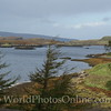 Skye - Dunvegan Castle - View of Loch