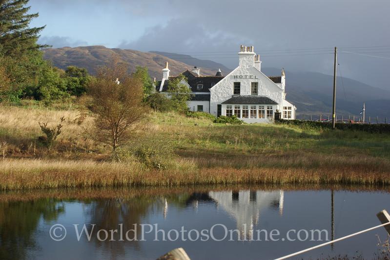 Skye - Sleat - Hotel Eilean Iarmain