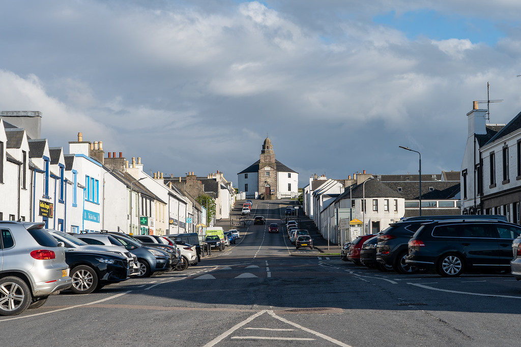 Main street in Bowmore
