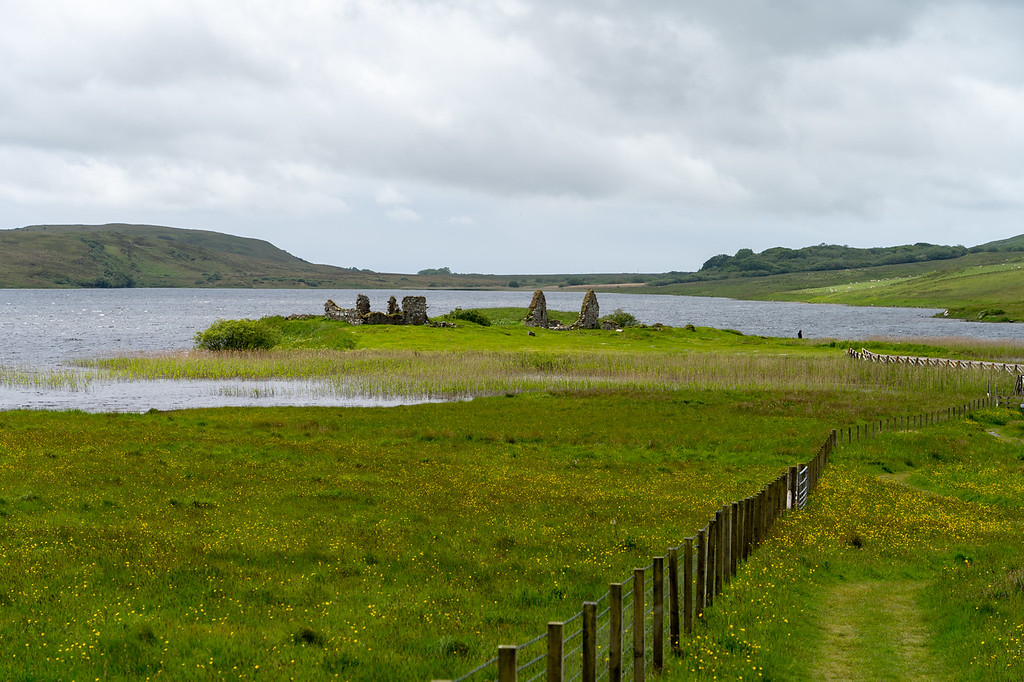 Finlaggan ruins on Islay