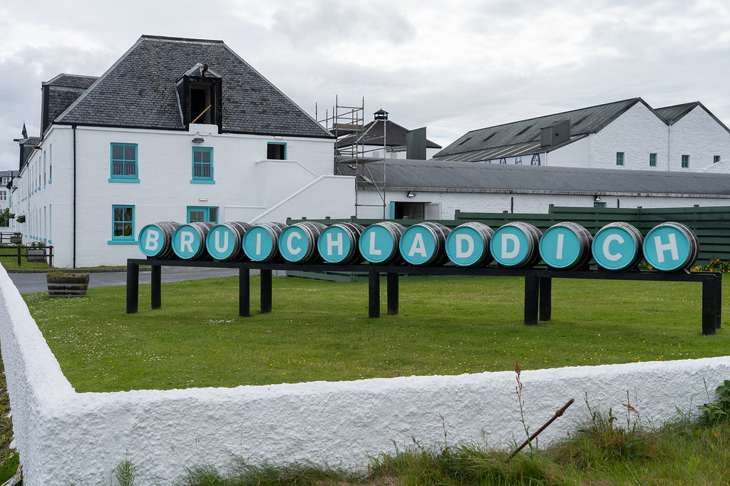 Bruichladdich Distillery on Islay
