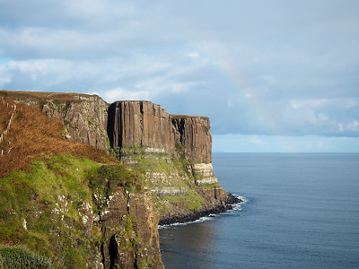 Kilt Rock on the Isle of Skye