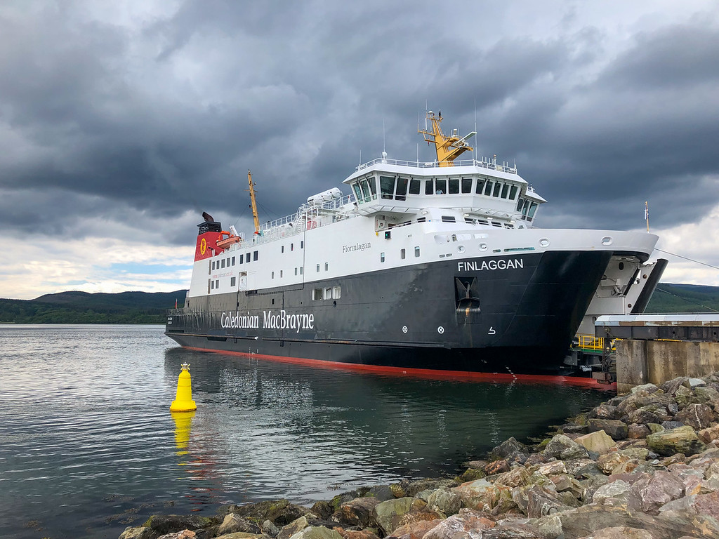 Caledonian MacBrayne ferry from Kennacraig
