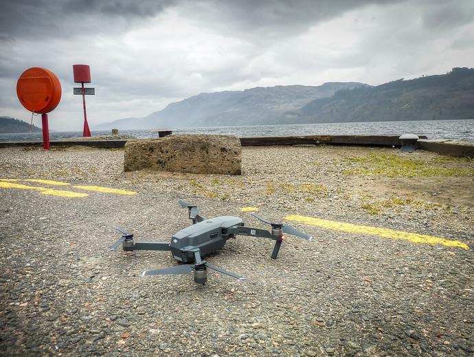 loch ness drone