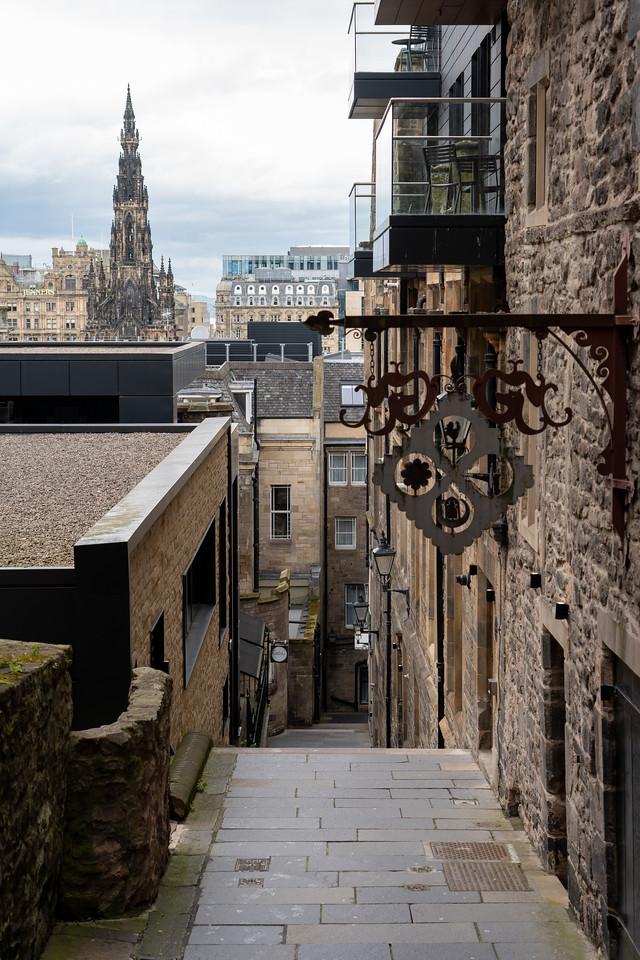 Advocate's Close in Edinburgh