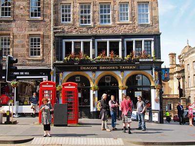 Royal Mile in Edinburgh