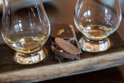 Whisky and chocolate pairing in Edinburgh