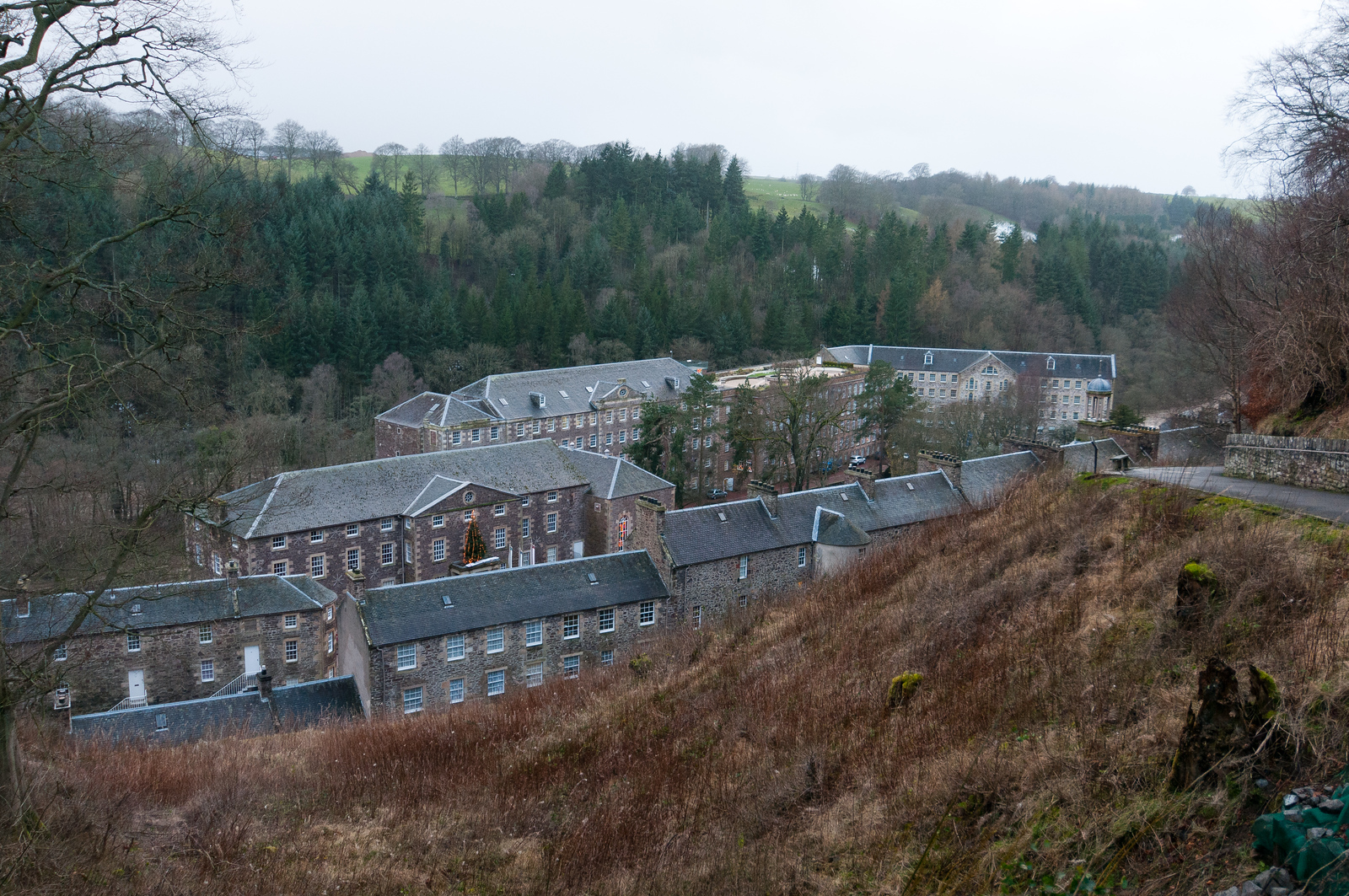 New Lanark UNESCO World Heritage Site, Scotland