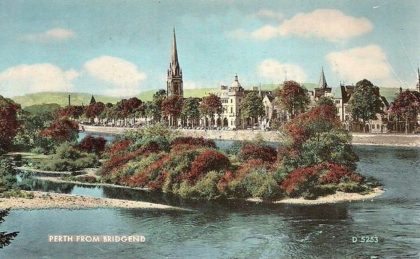 Perth from Bridgend