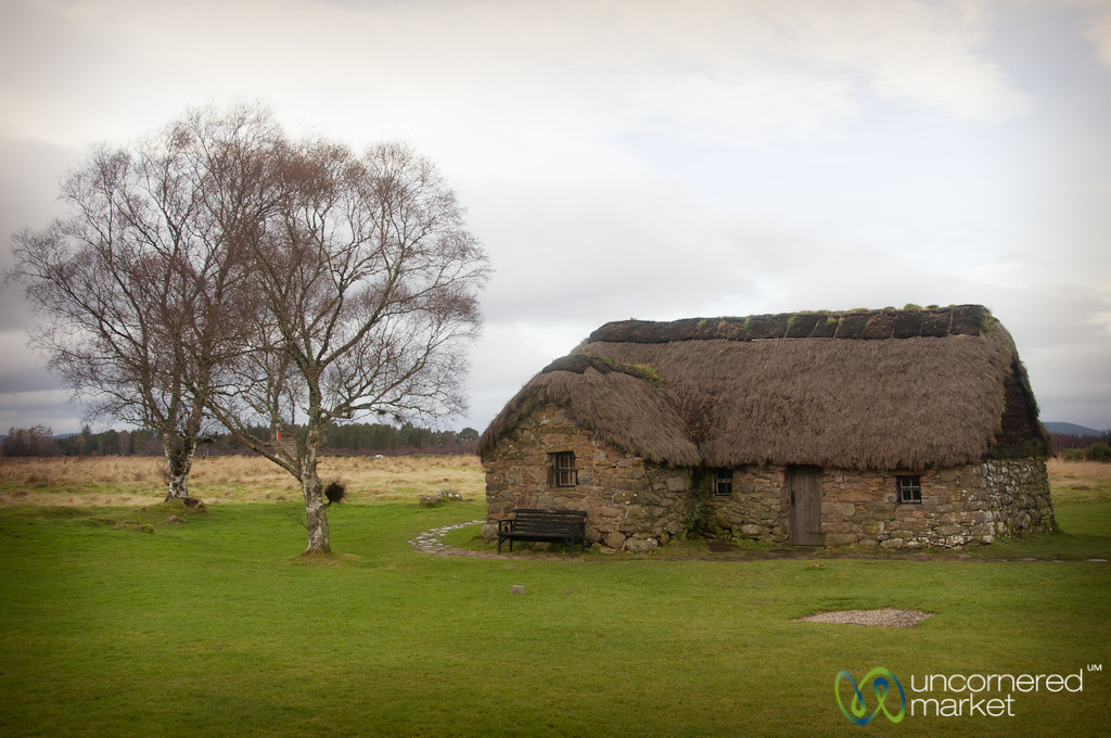 Farmhouse at Culloden Battlefield - Scotland