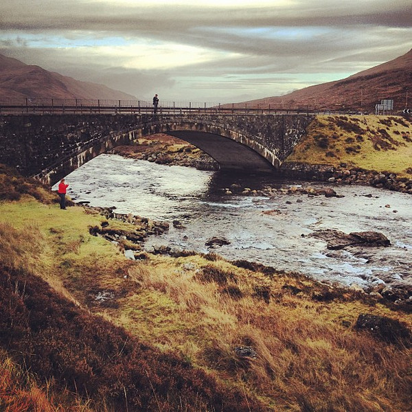 The waters of eternal youth, Isle of Skye bridge at Sligachan. #Scotland #blogmanay