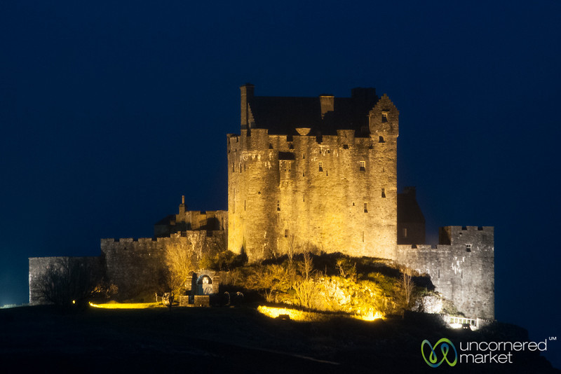 Eilean Donan Castle at Night - Scotland