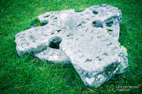 Celtic Cross, Kilmuir Cemetery - Isle of Skye, Scotland