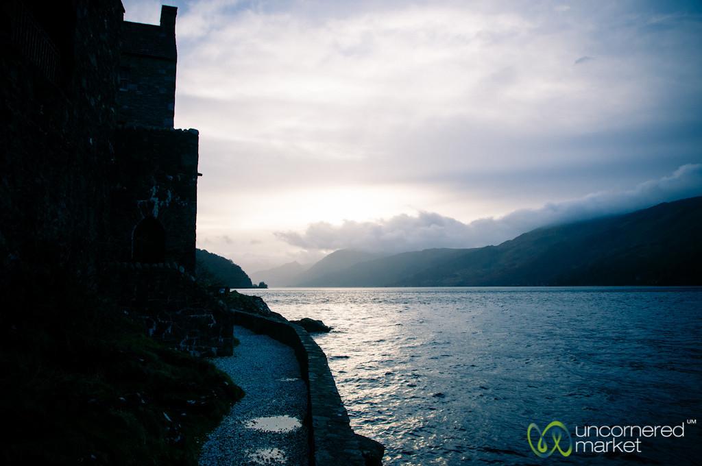 View from Eilean Donan Castle - Scotland