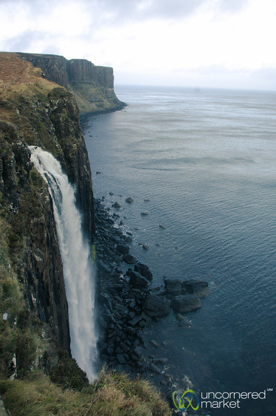 Mealt Waterfall and Kilt Rock - Isle of Skye, Scotland