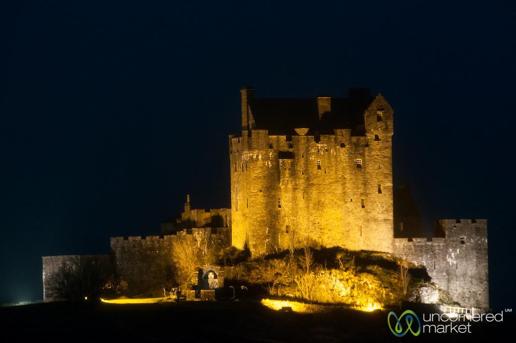 Eilean Donan Castle at Night - Scotland