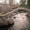 Carrbridge Stone Bridge and River - Scotland