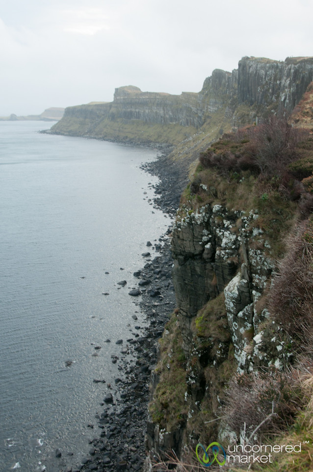 Cliffs of the Isle of Skye - Scotland