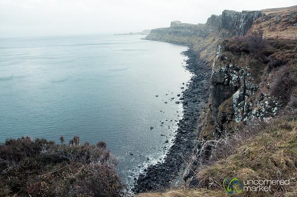 Cliffs of the Isle of Skye - Scotland