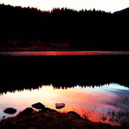 Highland sunrise en route to Isle of Skye #Scotland  #blogmanay