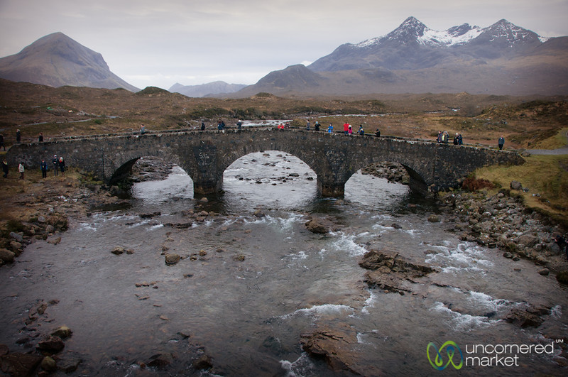 Sligachan River and Bridge - Isle of Skye, Scotland