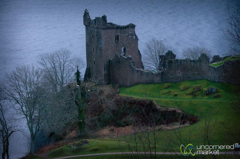 Urquhart Castle on Loch Ness - Scotland