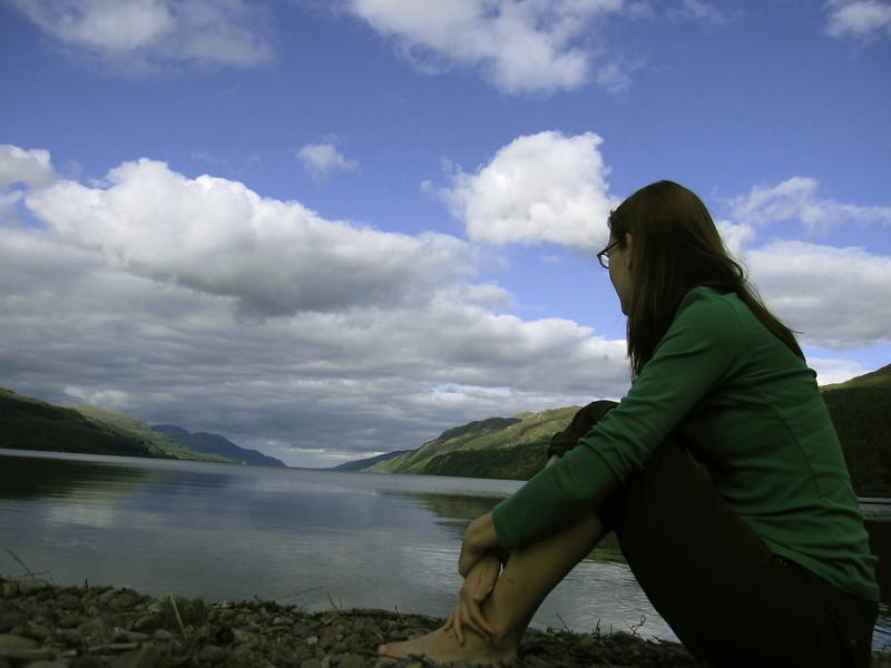 Loch Ness in Scottland