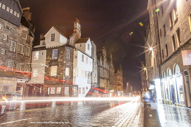 John Knox House, The Royal Mile, Edinburgh, Scotland.