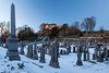 Stirling Castle and Old Town Cemetery, Stirling, Scotland.