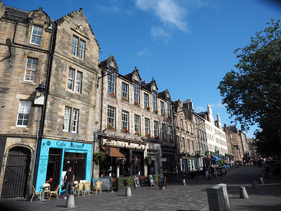 Grassmarket in Edinburgh, Scotland