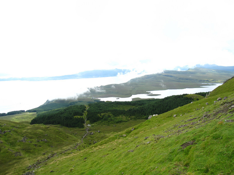Views of the Sound of Raasay on the Trotternish Peninsula from the Storr