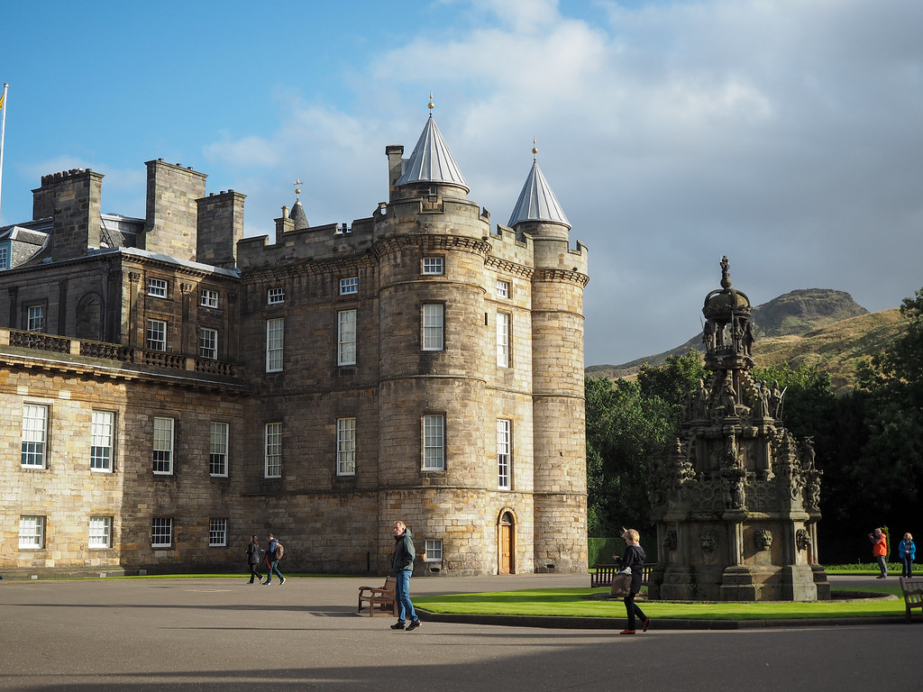 Holyrood House Palace