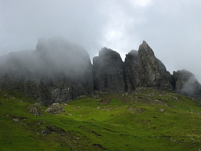 Rapid Fog Settling on The Storr