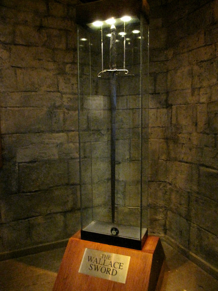 William Wallace's huge sword!