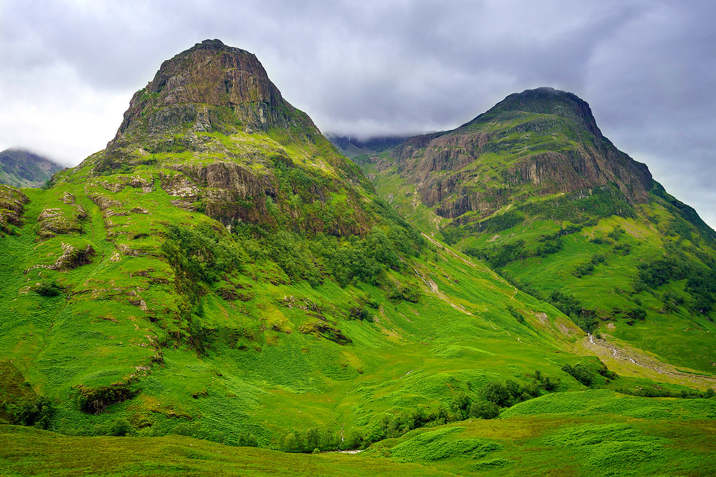 Glencoe Mountains Scotland