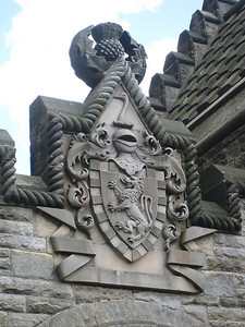 Detail on the William Wallace Monument