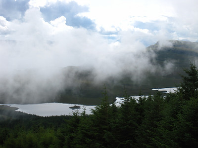 The Fog Rolling In Across the Lake